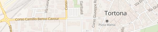 Karte Parcheggio Allende Tortona