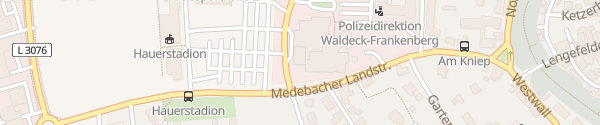 Karte Hotel Touric Korbach