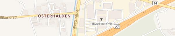 Karte Inocom Installationen AG Frauenfeld