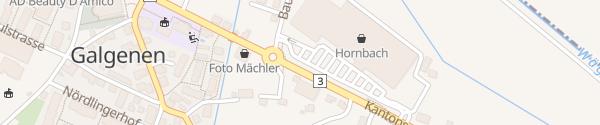 Karte Hornbach Galgenen