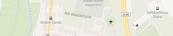 Karte Wasserturm Rodgau