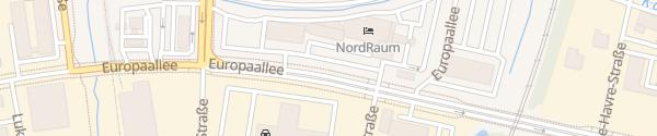 Karte Hotel NordRaum Bremen