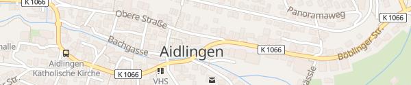 Karte Rathaus Aidlingen