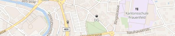 Karte Marktplatz Frauenfeld