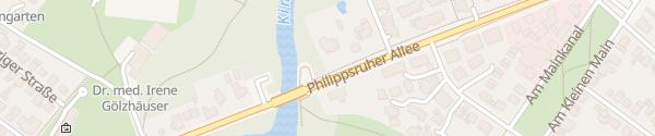 Karte Sparkassen-Villa Hanau