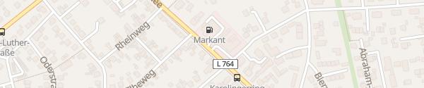 Karte Markant Tankstelle Minden