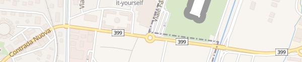 Karte Lugano Airport Agno