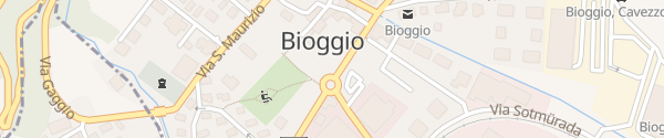 Karte Strada Regina Bióggio
