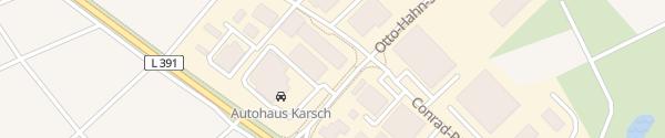 Karte Autohaus Karsch (Firmengelände) Bisingen