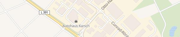 Karte Autohaus Karsch Bisingen