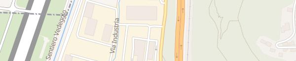 Karte Aziende Industriali di Lugano Muzzano