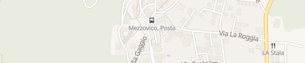Karte Municipio di Mezzovico Mezzovico