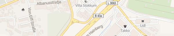 Karte Best Western Premier Hotel Villa Stokkum Hanau