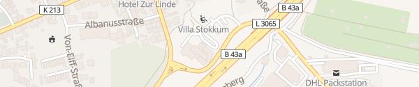 Karte Destination Charger Best Western Premie Hotel Villa Stokkum Hanau