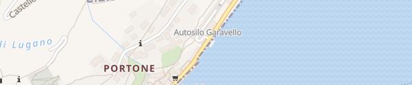 Karte Autosilo Morcote Garavello Morcote