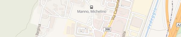 Karte Campo Giova Manno