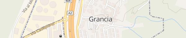 Karte Parcheggio comunale Grancia