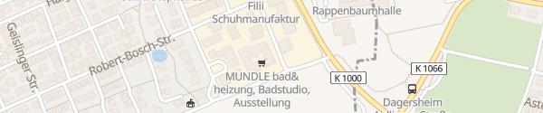 Karte Mundle Bad & Heizung Sindelfingen