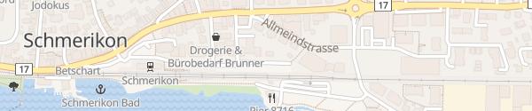 Karte Bahnhof Schmerikon