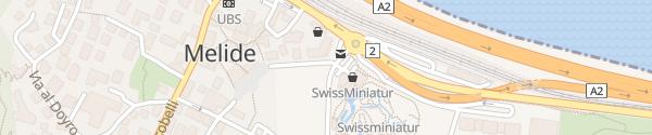 Karte Parcheggio Swissminiatur Melide