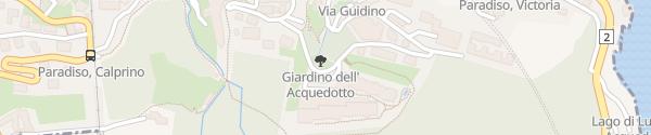 Karte The View Lugano