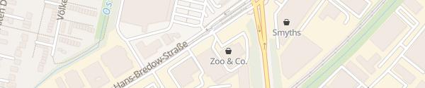 Karte ZOOwieso Bremen