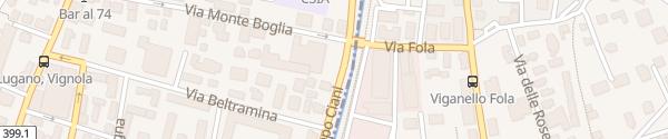 Karte AMAG Lugano