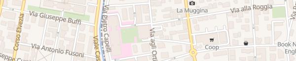 Karte Autosilo ospedale Italiano Lugano