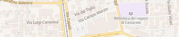 Karte Centro Esposizioni Lugano