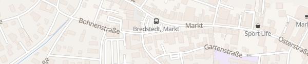 Karte Marktplatz Bredstedt