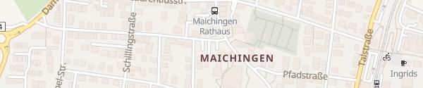 Karte Goethestraße Maichingen Sindelfingen