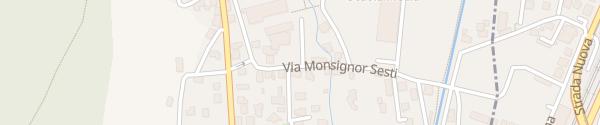 Karte Via Monsignor Sesti Riva San Vitale