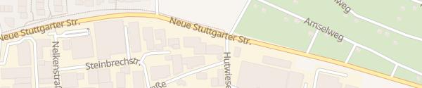 Karte Auto Bebion Magstadt