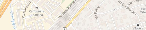 Karte Bahnhof Mendrisio