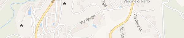 Karte Centro Cadro Panoramica Lugano