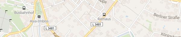 Karte Rathaus Laubach