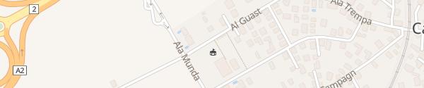 Karte Scuole elementari Giubiasco Camorino