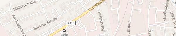 Karte Happle & Messmer Stockach