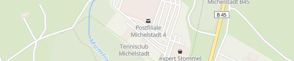Karte Fastned REWE Center Michelstadt