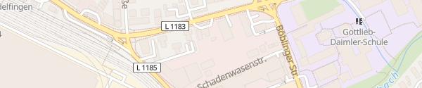 Karte Shell Tankstelle Sindelfingen