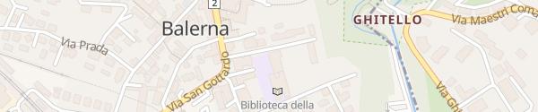 Karte Scuola Elementare Balerna