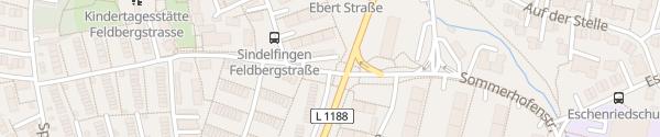 Karte EnBW Ladesäule Sindelfingen