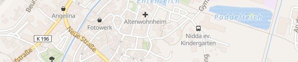Karte Rathaus Nidda