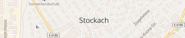 Karte Rathaus Stockach