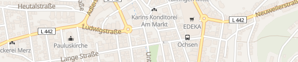 Karte Markt Albstadt