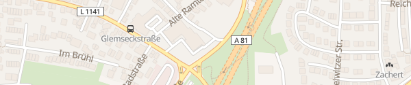 Karte Autohaus Weeber Leonberg