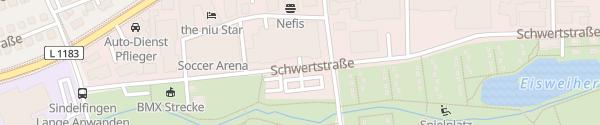 Karte Kaufland Schwertstraße Sindelfingen