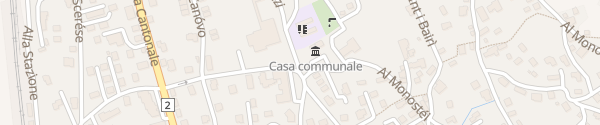 Karte Gemeindehaus Claro