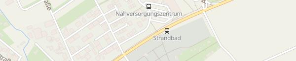 Karte Erfurter Straße Rodenbach