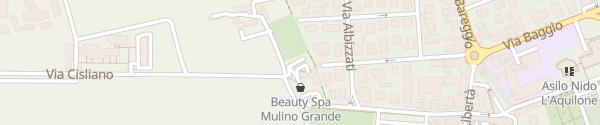 Karte Hotel Mulino Grande Cusago